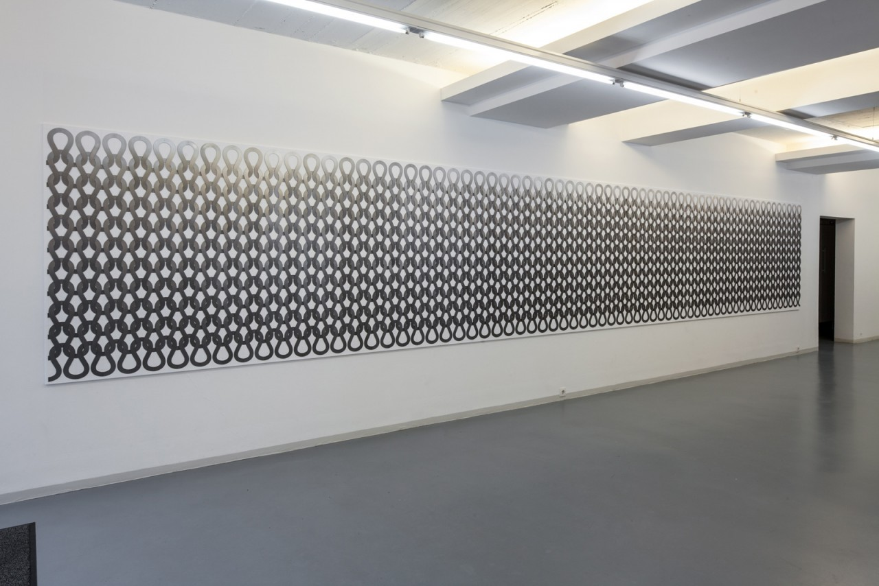 ALEXANDRA BIRCKEN 'Uknit Bonn', Foyer exhibition, Bonner Kunstverein, 2012
