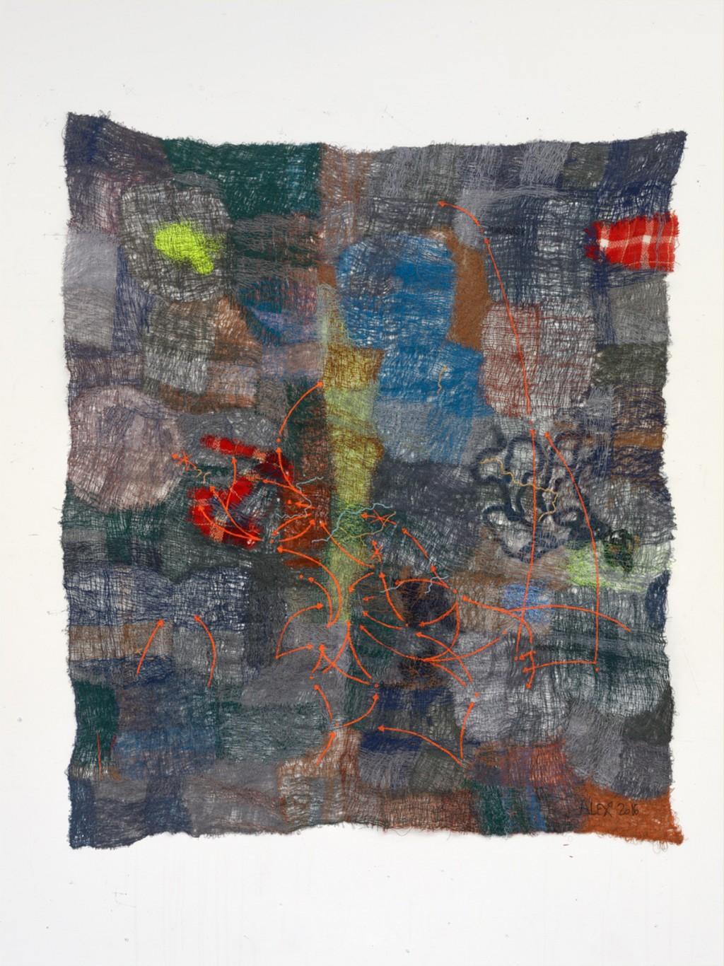 ALEXANDRA BIRCKEN 'Needle', Herald St, London, 2016
